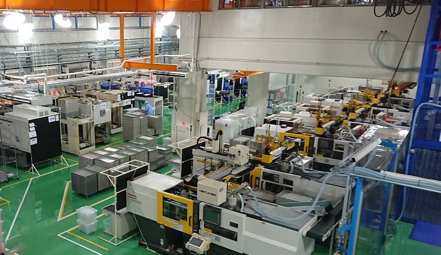 Light guide Production factory in Yamanashi, Japan